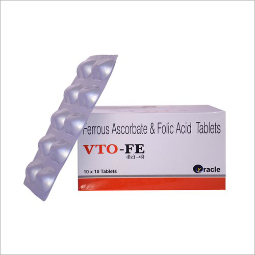 Ferrous Ascorbate And Folic Acid Tablet