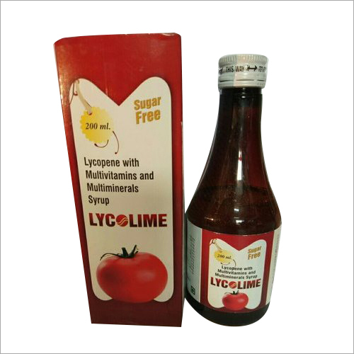 200 ML Lycopene With Multivitamins And Multiminerals Syrup