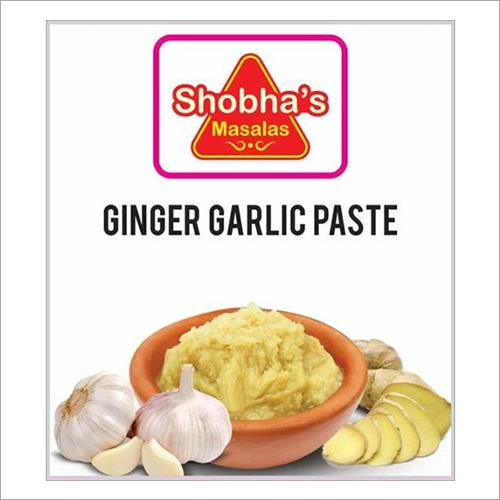 Fresh Ginger And Garlic Paste