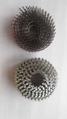 Wire collated nails coil