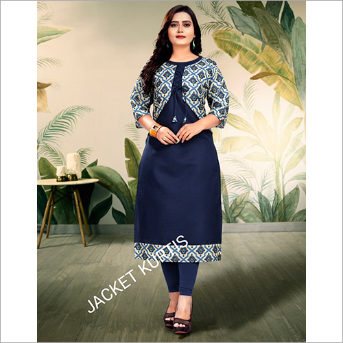 Ladies Jacket Kurti