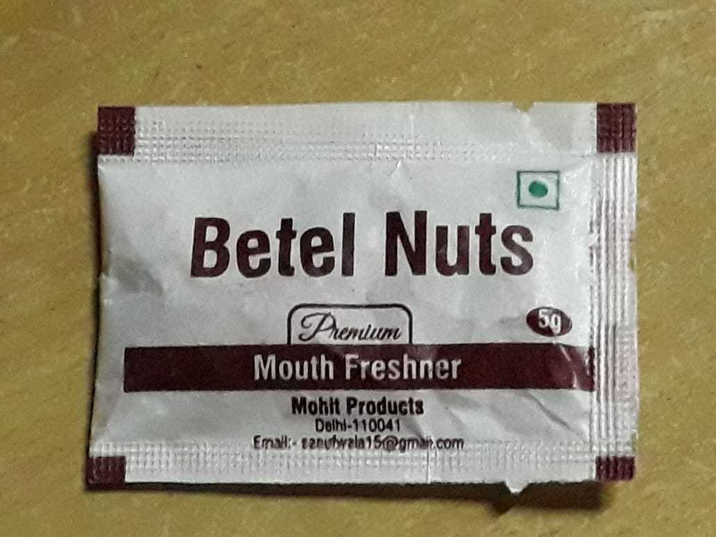 Betel Nuts Mouth Freshener