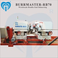 Wirebrush Double End Deburring Machine