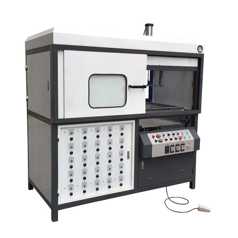 Semi Automatic Plastic Blister Vacuum Forming Machine