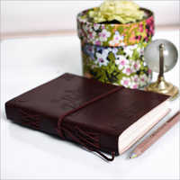 Leather Embossed Journal Diary