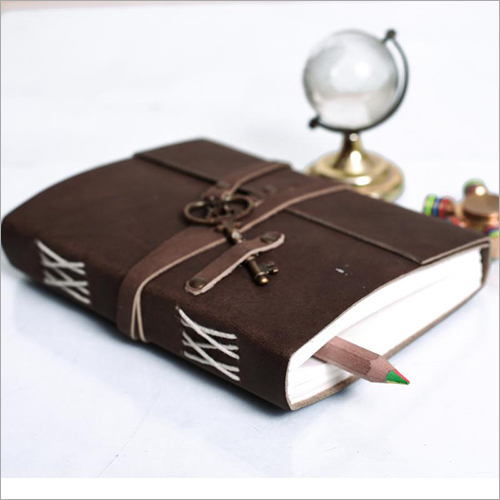 Leather Journal Diary With Key
