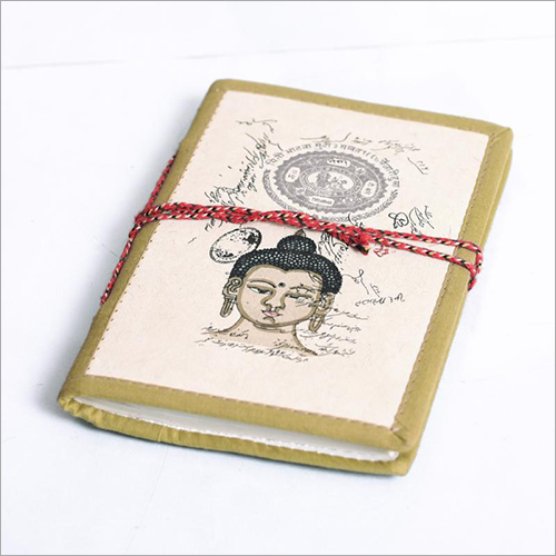 Buddha Printed Journal Diary