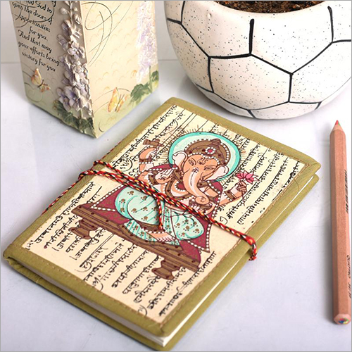 Ganesha Printed Journal Diary