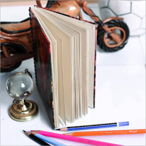 Wiro Notebook With Colorful Print Diary