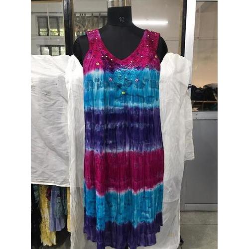 beach Rayon dress