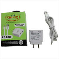 2.5 AMP  Phone Charger