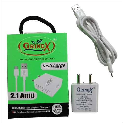 2.1 AMP Single Port Mobile Charger
