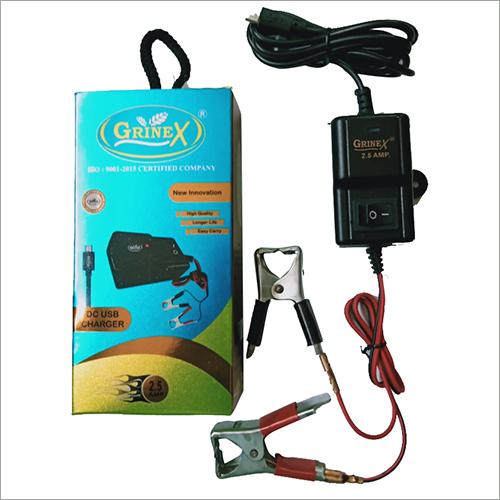 12V DC Battery Mobile Charger