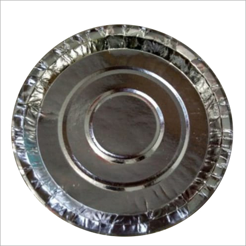 13 Inch Silver Paper Plate
