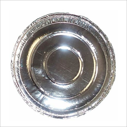12 Inch Silver Paper Plate