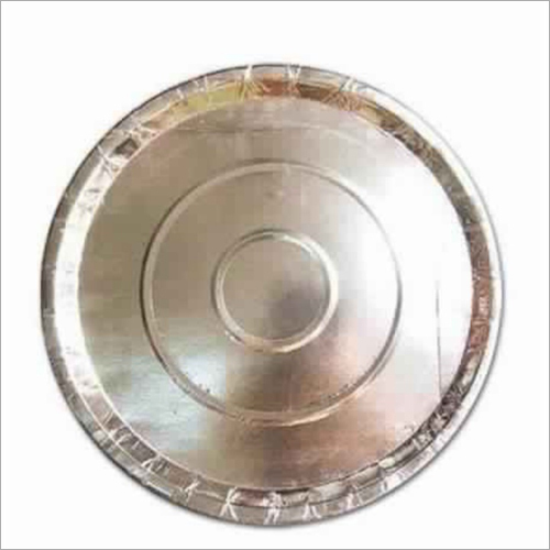 Disposable Silver Round Plate