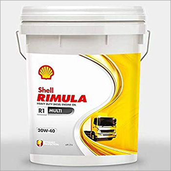 10 Ltr 20W-40 Shell Rimula R1 Multi Grade Engine Oil