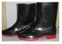 Safety Gumboot Black Stone 10 inch  Model No. 1609