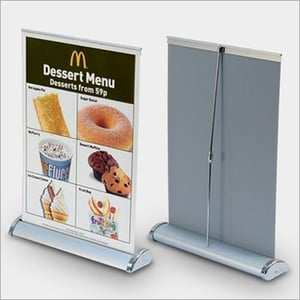 Luxuy Roll Up Standee