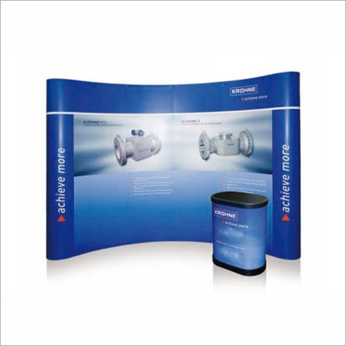 POP Up Curve Display Stand