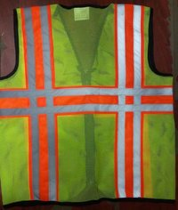 Metro Florescent Reflective Jacket: Model No. SJ-1406