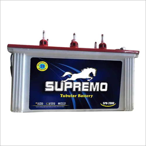 Supremo Tubular Battery