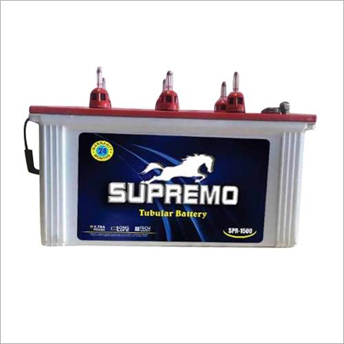 Supremo High Performance  Tubular Battery