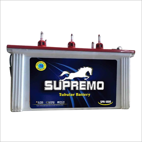 Superemo Long Life Tubular Battery