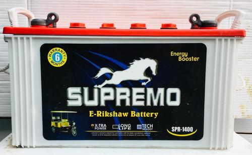 Supremo E Rickshaw Automotive Tubular Battery