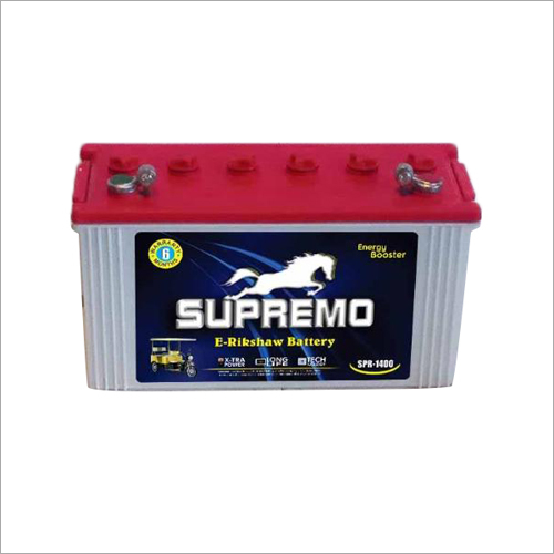 Supremo E- Rikshaw Battery