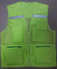 Metro Safety Florescent Reflective Jacket - 1420