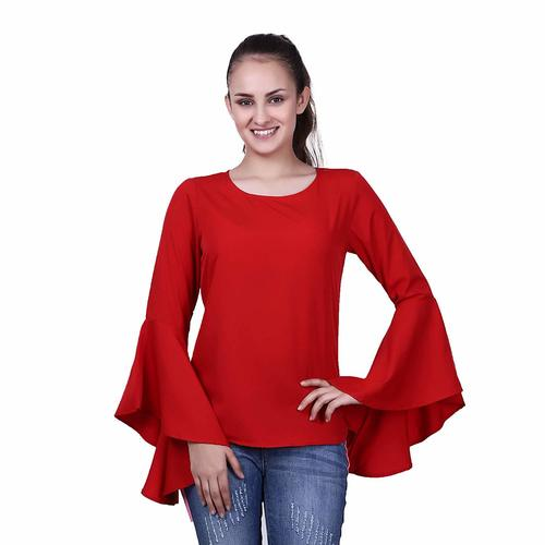 Women Bell Sleeves Top