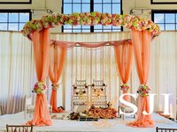 Pastel Theme Fabric Mandap