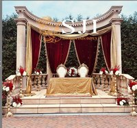 Traditional Drapes Wedding Mandap