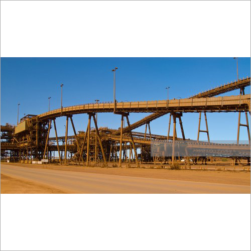Mild Steel Belt Conveyor Structure