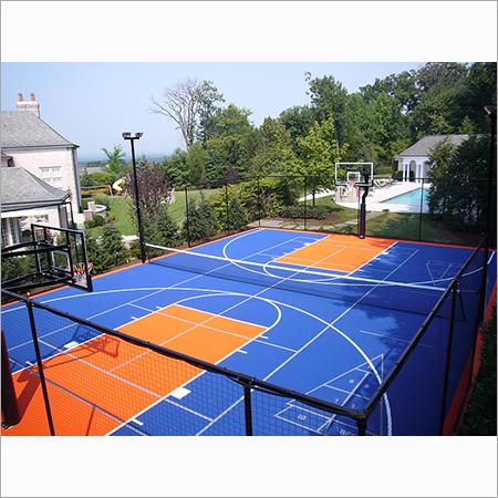 Acrylic BasketBall Court