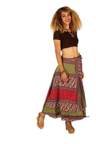 Cotton Printed Vinatge Skirts
