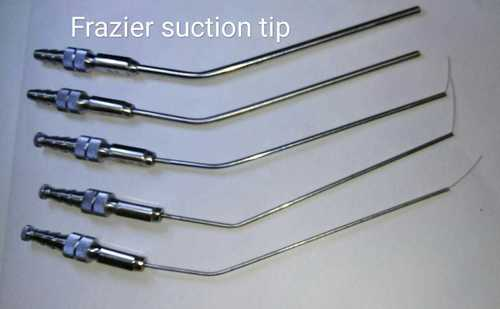 Frazier suction tip