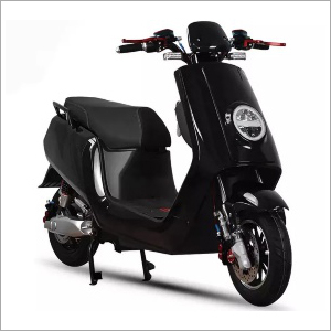 Battery Operated Black Scooter
