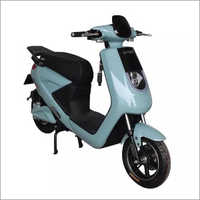 Blue & Black Electric Scooter