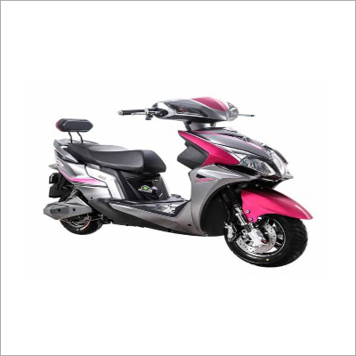 Battery Operated Grey Scooter