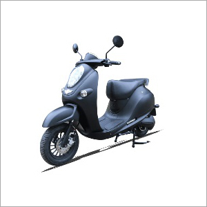 Battery Operated Pure Grey Scooter