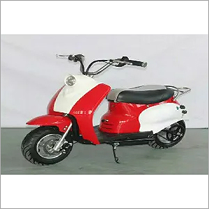 Red & White Electric Scooter