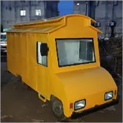 Electric Yellow Food Van