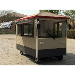 Electric Grey Food Van