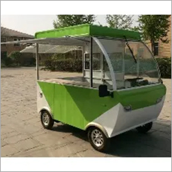 Electric Green Food Truck