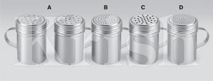 Multi Shaker Screw LId With Side Handle