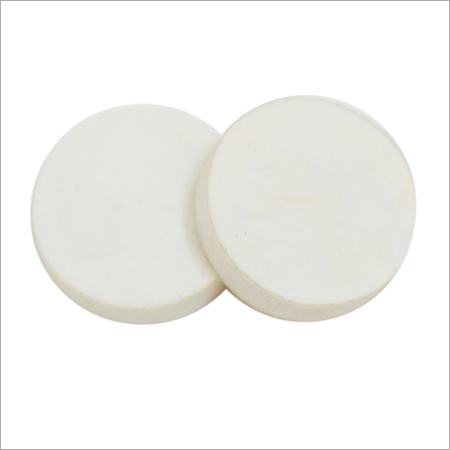Round White Eraser