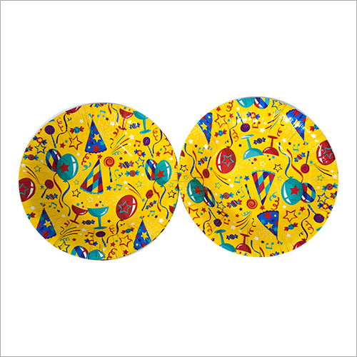 Party Print Paper Plate