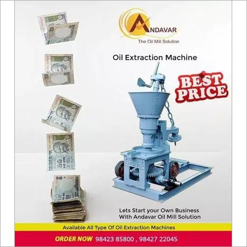 Basic Model Rotary Oil Extractor